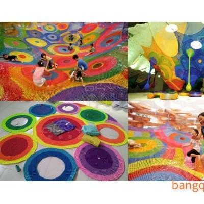 起航游艺 绳网编织 淘气堡 室内外儿童乐园  彩虹迷宫