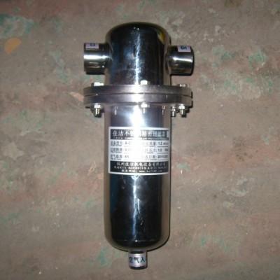 食品级不锈钢除菌过滤器 不锈钢负压吸引除菌过滤器